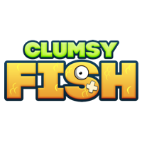 Clumsy Fish Game Logo