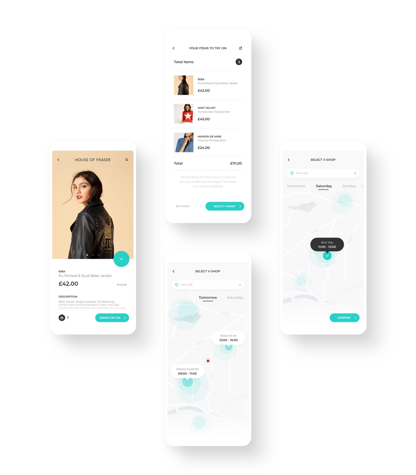 product perspective for online shopping