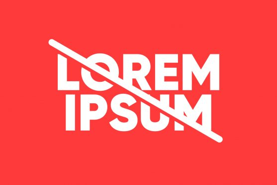 Why You Shouldn't Be Using Lorem Ipsum In Your Designs